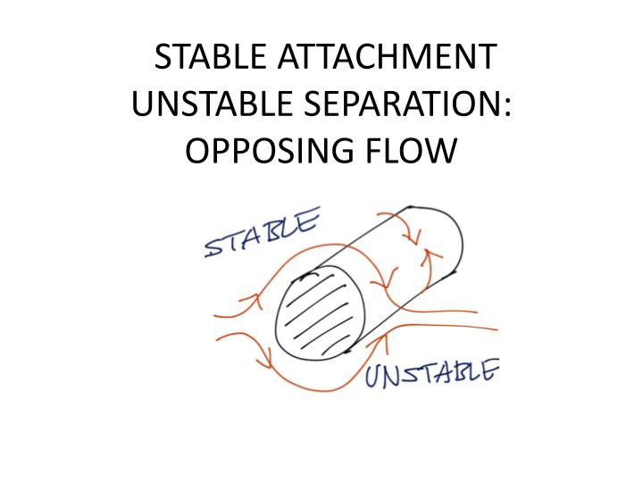 STABLE ATTACHMENT