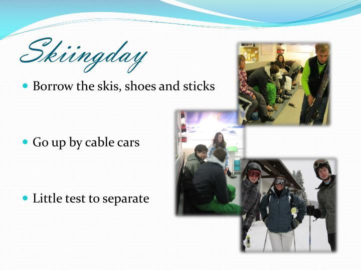Skiingday