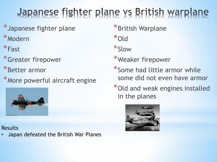 Japanese fighter plane