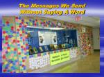 the messages we send without saying a word