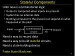 stateful components