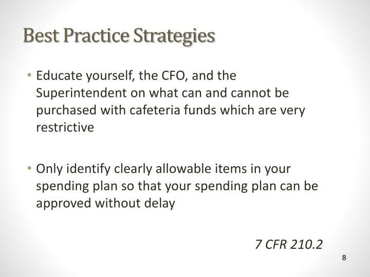 Best Practice Strategies