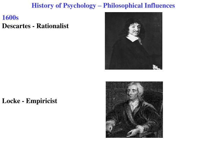 Empiricist psychology