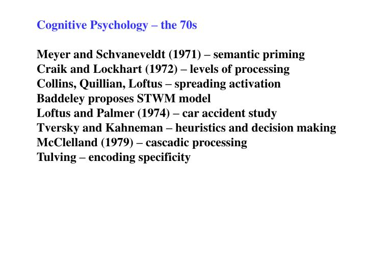 cognitive essay in priming psychology semantic