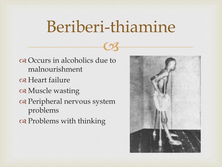 Beriberi-thiamine