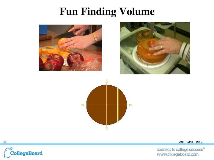 Fun Finding