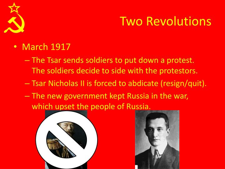 Two Revolutions