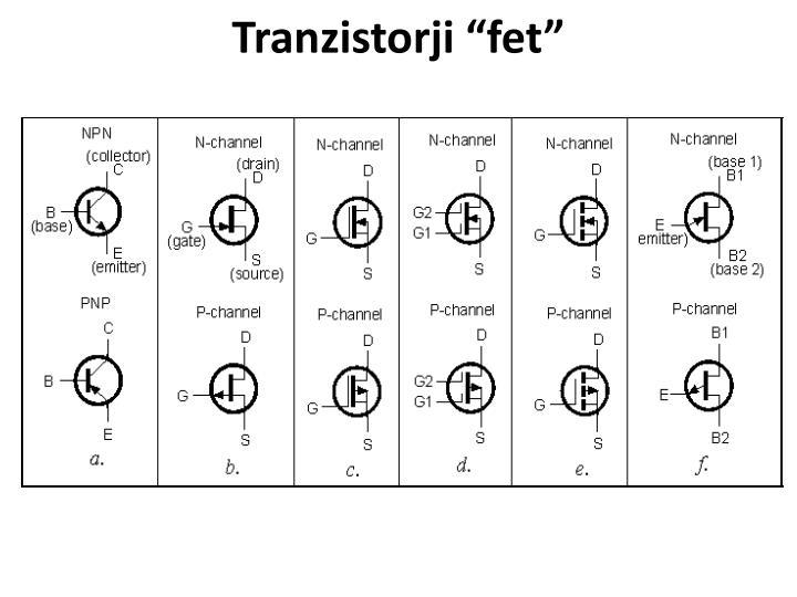 "Tranzistorji """