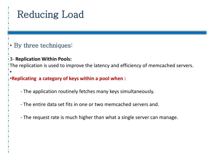 Reducing Load