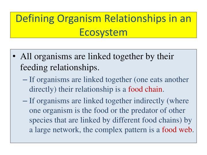 Defining Organism