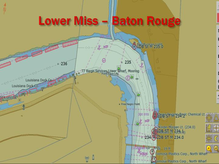 Lower Miss – Baton Rouge