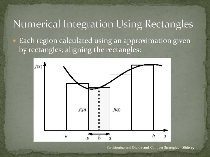 Numerical Integration Using Rectangles