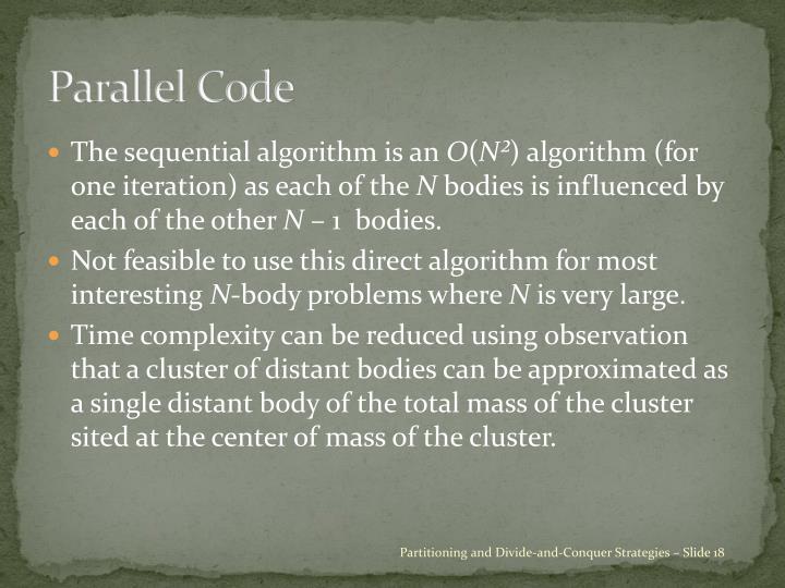 Parallel Code