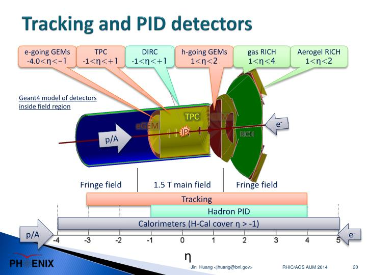 Tracking and PID detectors