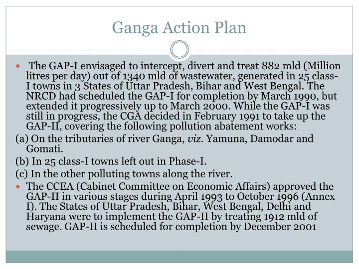 Ganga Action Plan