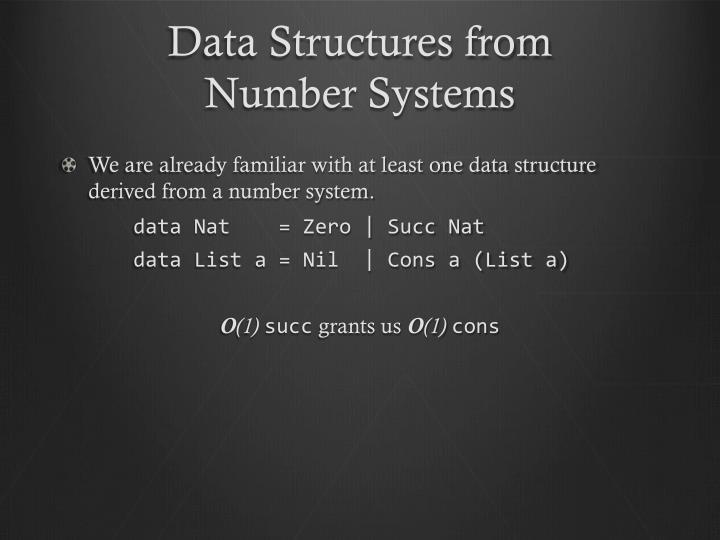 Data Structures from