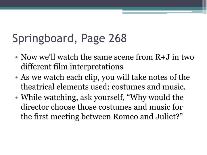 Springboard, Page 268