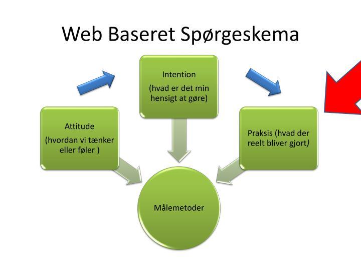 Web Baseret Spørgeskema