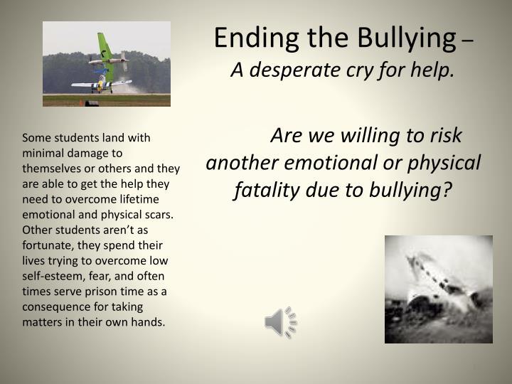 Ending the Bullying