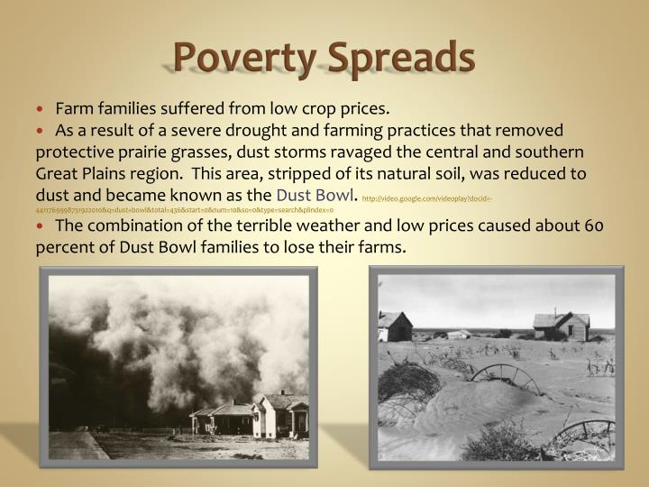 Poverty Spreads