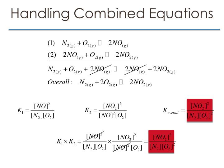Handling Combined Equations