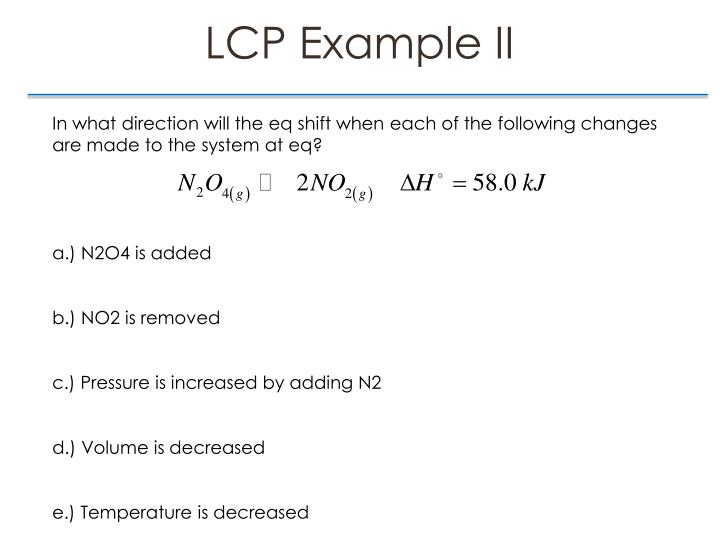 LCP Example II