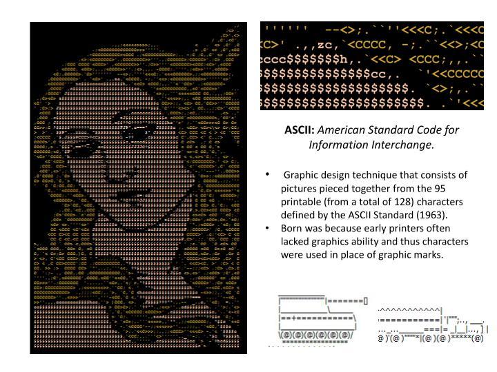 ASCII: