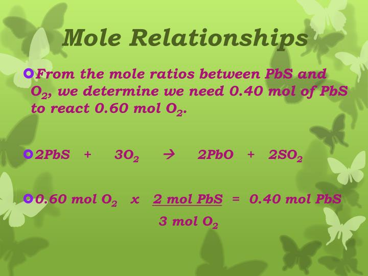 Mole Relationships