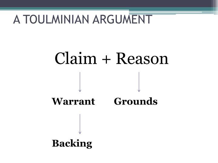 Claim + Reason