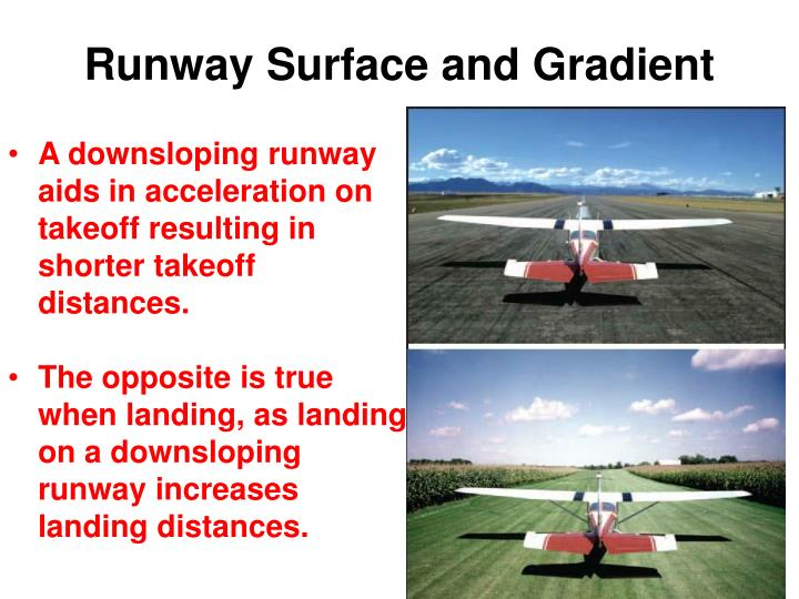 Runway Surface and Gradient