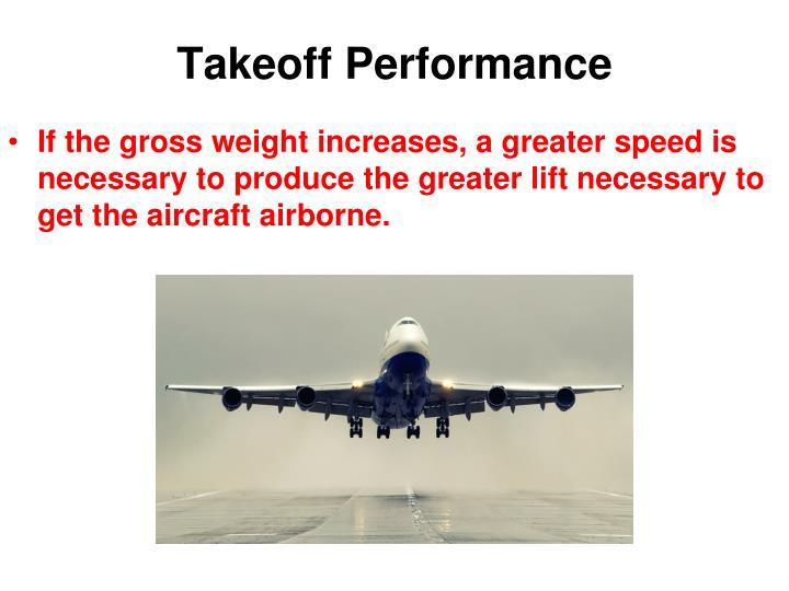Takeoff Performance