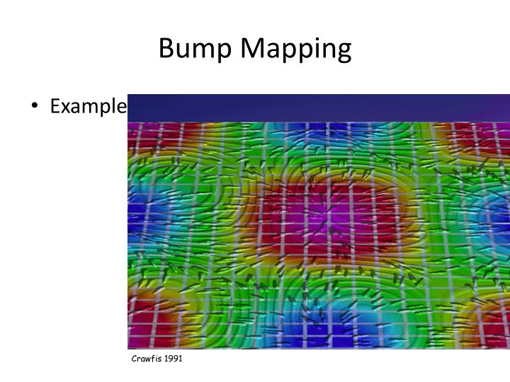 Bump mapping2