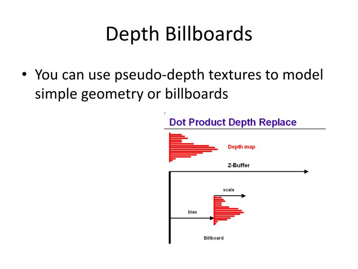 Depth Billboards