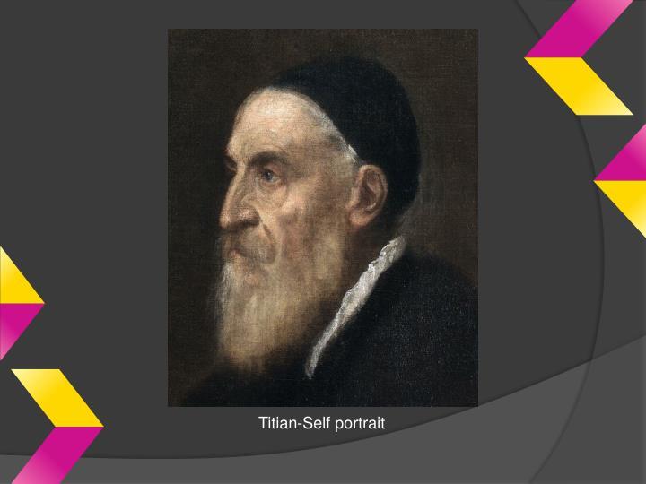 Titian-Self portrait