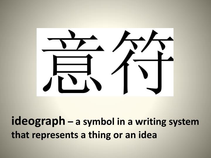 ideograph