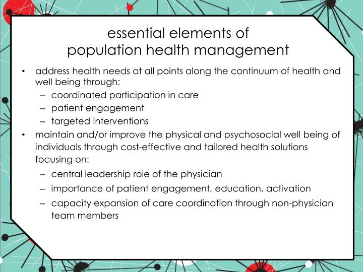 essential elements of