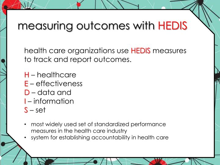 measuring outcomes with