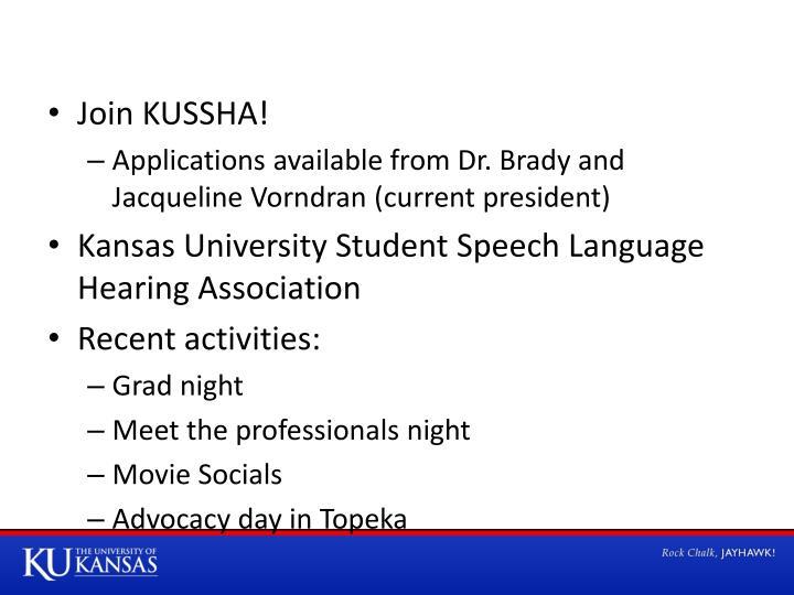 Join KUSSHA!