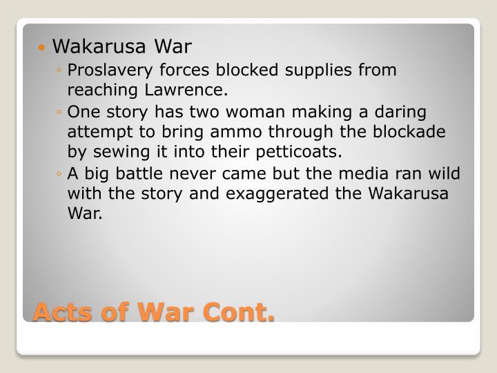 Wakarusa War