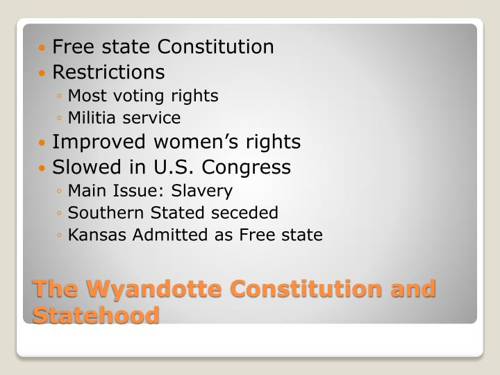 Free state Constitution