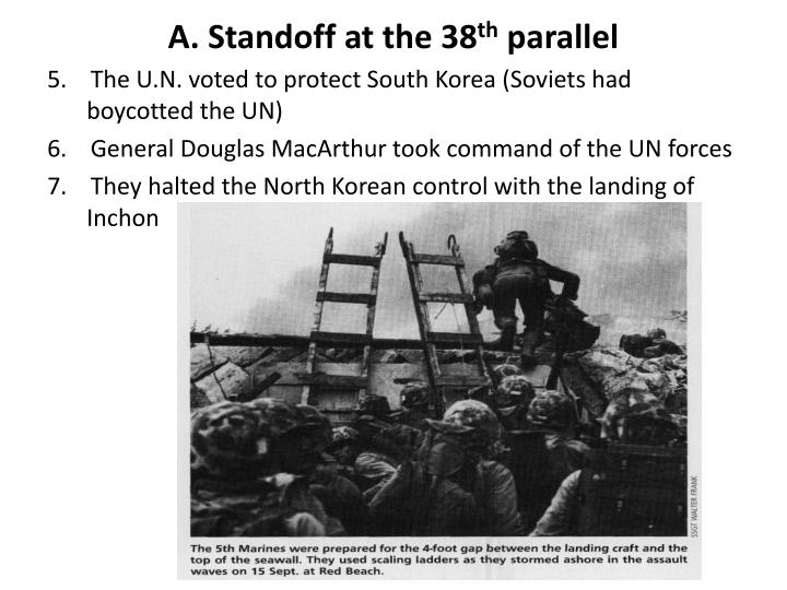 A standoff at the 38 th parallel1