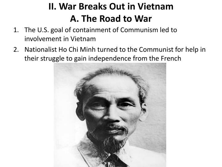 II. War Breaks Out in Vietnam