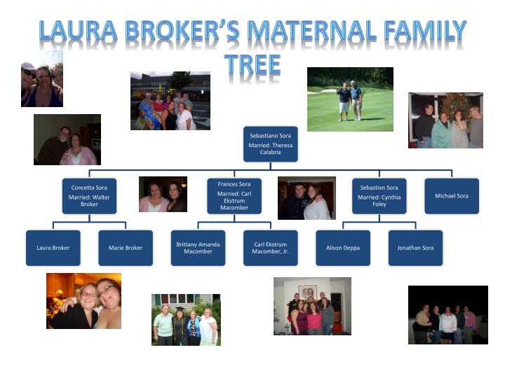 laura broker s maternal family tree