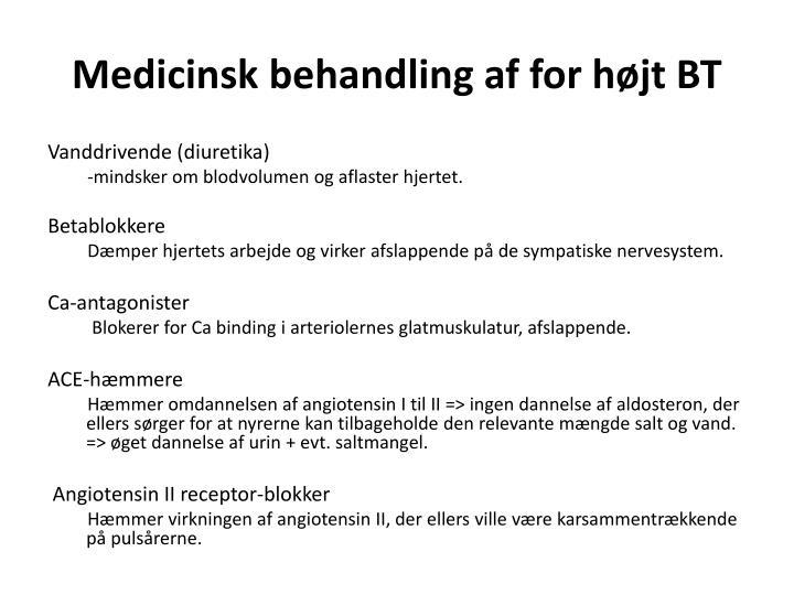 Medicinsk b