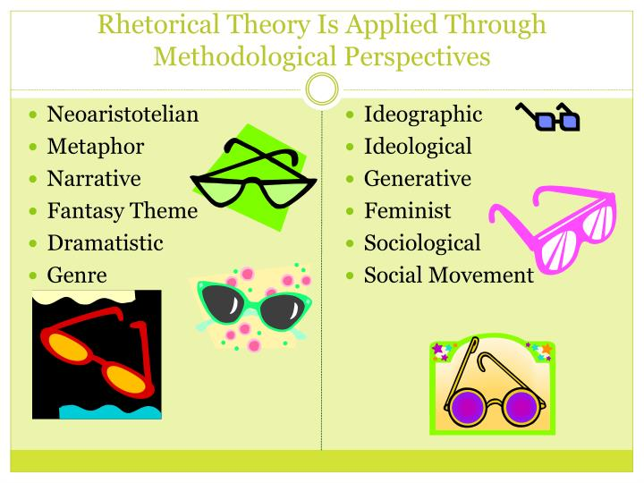 Rhetorical Theory Is Applied Through Methodological Perspectives
