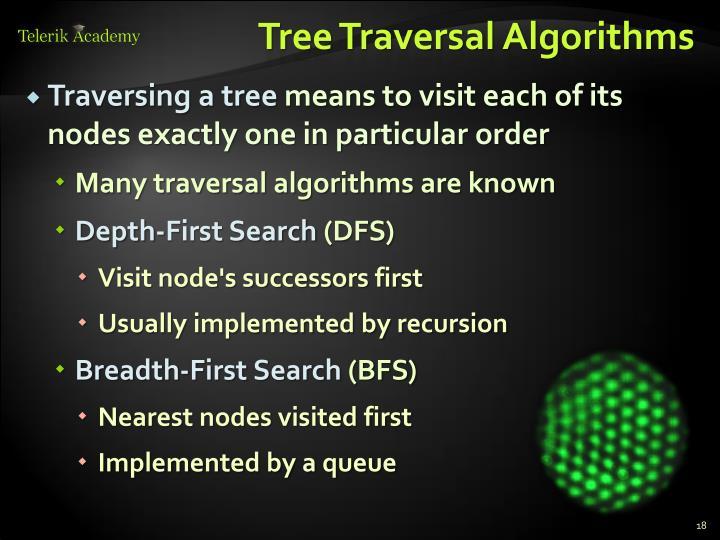 Tree Traversal Algorithms