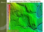 in comparison site 3 topographic