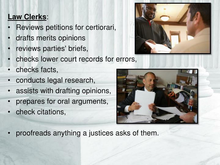 Law Clerks