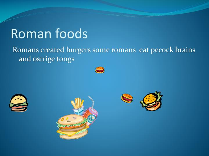 Roman foods