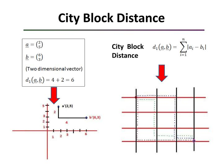 City Block Distance